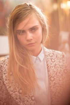 Backstage — Mulberry Spring 2014 — Photographed by Kevin Tachman