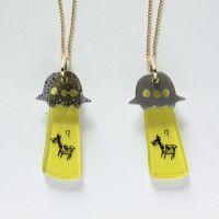 earring UFO accessory