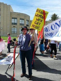 32 Gay Pride Pictures Everyone Should See. :D YAY! I'm def a straight woman with gay pride!