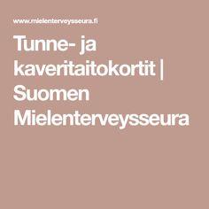 Tunne- ja kaveritaitokortit | Suomen Mielenterveysseura
