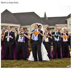 I can't wait to marry my super hero!