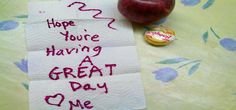 Pack a lunch for yourself. Put a special note or card in there to uplift your spirits later in the day.