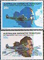 Australian Antarctic Territory 1984 Magnetic Pole Expedition SFine Mint SG 35 Scott L35/6 Other Australian Antarctic territory
