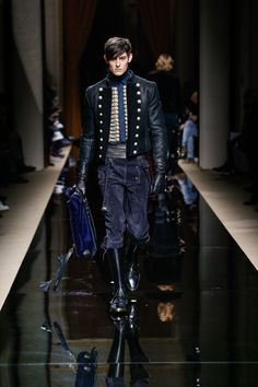 BALMAIN HOMME FALL/WINTER 2016  LOOK 8