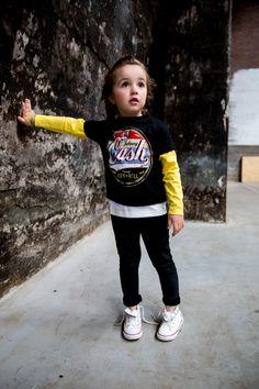 Johnny Cash Kinder T-shirt Rock n Roll