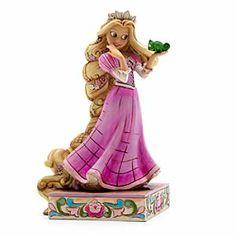 Jim Shore Disney Traditions - Rapunzel und Pascal Figur