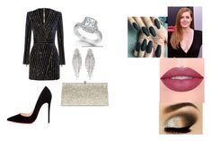 """""""Untitled #70"""" by destinyt98 on Polyvore featuring Christian Louboutin, Marchesa and Urban Decay"""