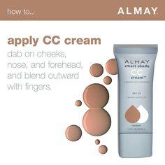How to apply CC Cream