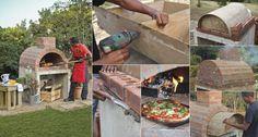 Wie man seinen eigenen Pizzaofen errichtet #eigenen #errichtet #pizzaofen #seinen