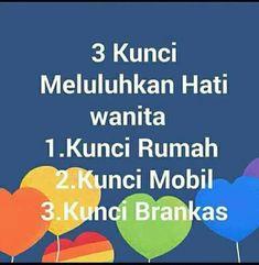 Quotes Lucu, Jokes Quotes, Life Quotes, Reminder Quotes, Self Reminder, Good Jokes, Funny Jokes, Quotes Indonesia, Tumblr Quotes