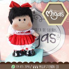 Nuestra #Mafalda hermosa, ya está de nuevo en  #Migas #FabricádeSueños #personajes www.migastienda.co ¡Visítanos! #Envigado CALLE 37 SUR CARRERA 34-32