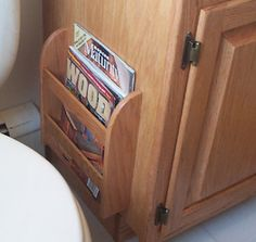 How to make these simple bathroom projects. Huge resource of wood working  plans and services for wood workers. Magazine Rack ...