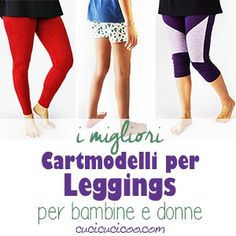Discover the best leggings sewing patterns for girls and women to sew you and your daughter, or any other gal you love, classic or moto leggings. Make Your Own Clothes, Diy Clothes, Making Clothes, Girls In Leggings, Best Leggings, Sewing Patterns Girls, Clothing Patterns, Altering Pants, Circle Skirt Pattern