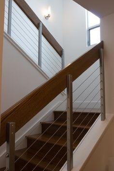 Palo Alto Residence - contemporary - staircase - san francisco - Fiorella Design