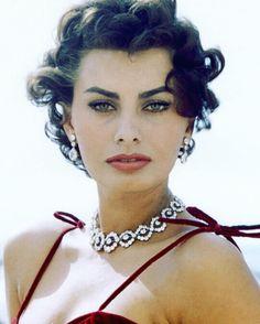 """Everything you see I owe to spaghetti."" ~ Sophia Loren #sophia #loren #muse #oftheday #sophialoren #icon #classicbeauty #italian #necklace #diamonds #quote #style #chic #gems #earrings #marcisa #instafashion #instadaily #styleinspo #stylediaries #jewelry #luxury #charm #styleicon"