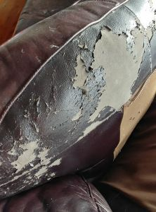 repair leather couch How to Repair Peeling Leather Faux Leather amp;