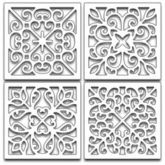 Found it at Blitsy - Penny Black Creative Dies - Swirl Squares