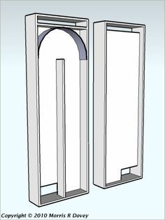 The Zen of Passive Solar Heating Panel Design - Front and back of solar heating panel with double trap to allow for totally passive heating without accidental loss of heat.  This could 2-layer design could be combined with the soda can heater idea as a simple way to improve its function.