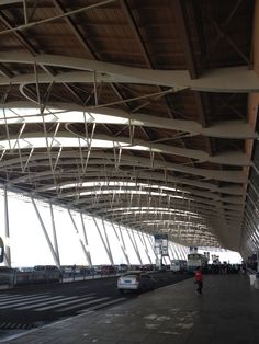 Canopy structure architecture of Shanghai Pudong international airport