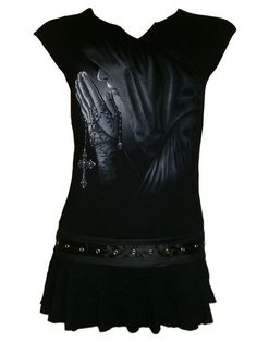 Spiral Direct Excorcism Dress / Top, great for layering or as a short dress with leggings. From mouseyessim