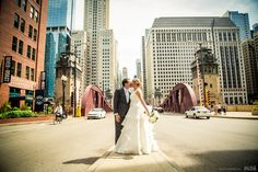 Kissing bride and groom in the streets of Downtown Chicago #Michiganwedding #Chicagowedding #MikeStaffProductions #wedding #reception #weddingphotography #weddingdj #weddingvideography #wedding #photos #wedding #pictures #ideas #planning #DJ #photography #bride #groom