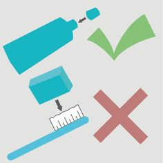 Be sure to cap your toothpaste, not your toothbrush. Covering the brush can trap moisture and encourage bacteria growth.