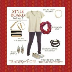 Trades of Hope Providing sustainable businesses! Our accessories provide their necessities! Www.mytradesofhope.com/stephanieblessman