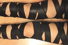 Syl and Sam: tutorial - Bandaged Leggings