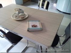 """Our """"New"""" Vintage Formica Kitchen Table"""