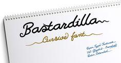 Bastardilla Font · 1001 Fonts