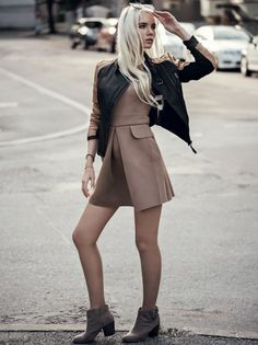 edgy urban outfit with jacket