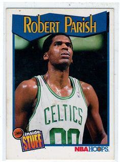 1991 NBA Hoops (Inside Stuff) Robert Parish # 305 Pick any cards up to $5 total and get FREE Shipping Collectible Trading Cards Card in Mint Condition (New pack open and card put in glass case) 157 Pr