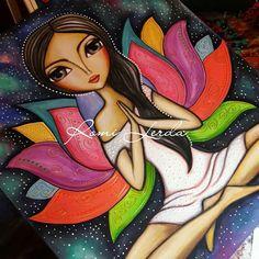 Obra para Vanesa.🙏 1.20 x 1.50 #romilerdart #CityBell #namaste