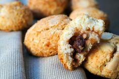 Amaretti ripieni alla nutella dolci alle mandorle vickyart arte in cucina