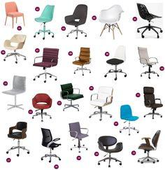 21 Cadeiras para o seu Home Office – RS Valente – Interior Design