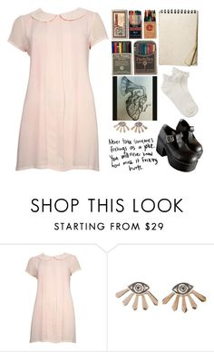 """""""OOTD #32"""" by katrinaharding ❤ liked on Polyvore featuring Nude and Pamela Love"""