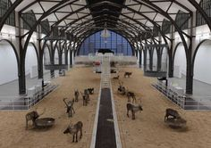 Hamburger Banhof Contemporary Arts Center. Berlin.