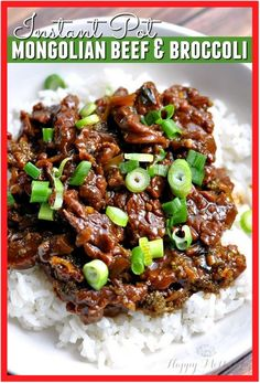 Are you looking for a delicious Instant Pot recipe for dinner? This Instant Pot Mongolian Beef & Broccoli recipe is easy and amazingly flavorful! This Instant Pot Mongolian Beef & Broccoli recipe is easy to make and amazingly flavorful! Mongolian Beef And Broccoli Recipe, Mongolian Beef Recipes, Broccoli Beef, Broccoli Recipes, Beef With Broccoli Recipe, Broccoli Salads, Broccoli Stalk, Mushroom Broccoli, Ground Beef