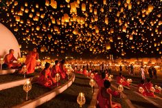 Yi Peng Festival, Thailand - Illuminating the World with National Geographic