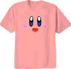 crazetees - Kirby Super Mario Brothers Nintendo Video Game T Shirt
