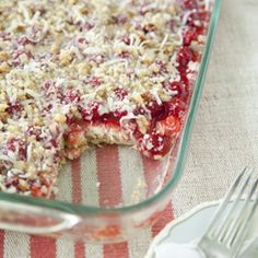 Paula Deen's Holiday Cherry Cheesecake