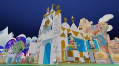 It's a Small World toy box in Disney Infinity is unlocked with your Magicband!!