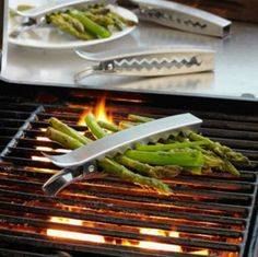 "Make veggie grilling easy with #grill clips. ""The Coolest #Barbecue Gadgets EVER!"" from #Yahoo"
