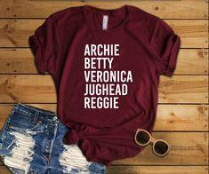 Archie Betty Veronica Jughead Reggie Shirt - Riverdale Shirt - Jughead Jones Shirt - Archie Shirt - Archie Comics - Betty Was Here T-shirt
