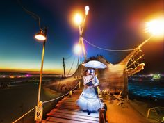 Burning Man Ship Dock from #treyratcliff at www.StuckInCustom... - all images Creative Commons Noncommercial.