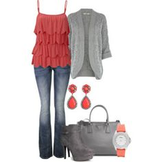 Coral for Fall All Fashion, Modest Fashion, Luxury Fashion, Autumn Fashion, Fashion Trends, Pretty Outfits, Fall Outfits, Casual Outfits, Cute Outfits