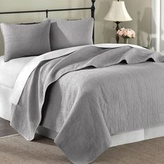 I pinned this 3 Piece Summerfield Coverlet Set from the Bedroom on a Budget event at Joss and Main!