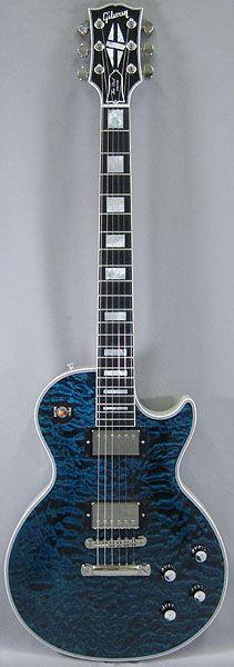 Gibson CUSTOM SHOP '11 1968 Les Paul Custom Quilt Top/Peacock Top-Trans White Back 【USED】 【中古】【楽天市場】