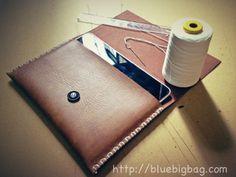 DIY leather iPad case