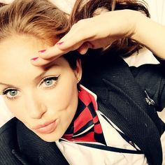"British Airways Stewardess ""@pinkmagicstuff. The most beautiful flight attendants of the world. Airline: #Britishairways"